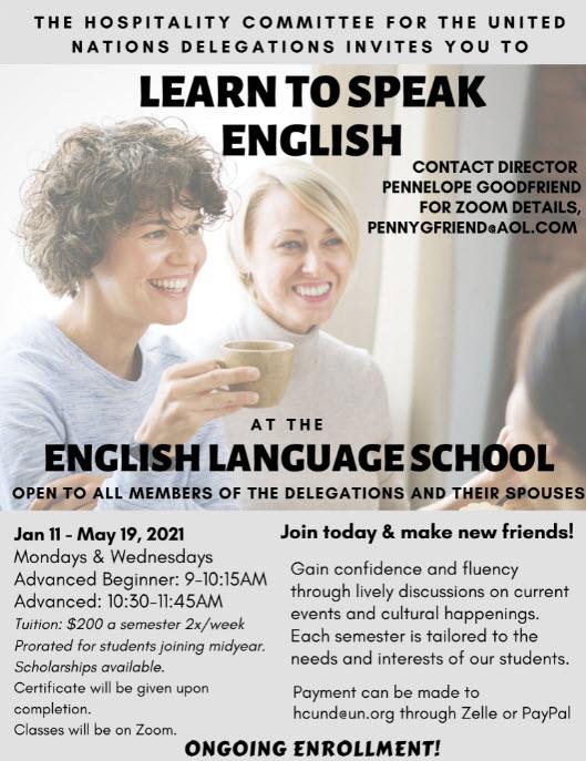 HCUND | Language Classes